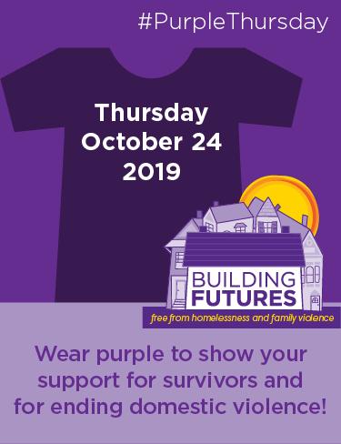 #Purple Thursday